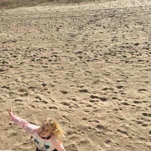 Vila på stranden