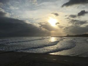 Solnedgång i Sitges